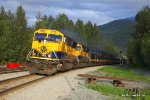Southbound 4320 approaches MP 141.9 en route to anchorage