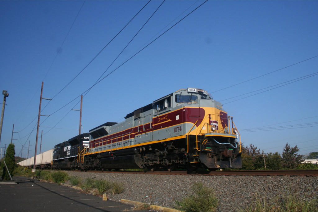 Lackawanna Unit Leading NS 24K to Morrisville