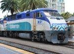 SDNR 3001 (EMD F59PHI) at San Diego Ca. 8/29/2013