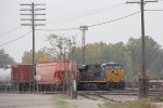CSX 3123 sits near the east end of the yard