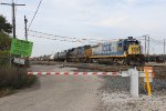 The odd couple of CSX 9156 & 3090 power Y193 during its daily switching chores