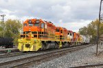 MQT 3391 leads Z151 up the Even Lead as it pulls into Wyoming Yard