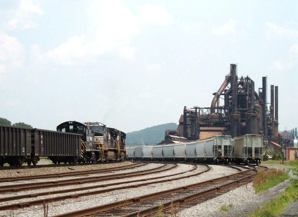 NS 18G at Bethlehem Steel