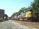 CSX pair of EMD led manifests