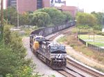 NS coal empties on the Philly sub