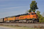 BNSF 5817 Southbound Out Of Elkhart, Ind
