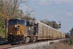 CSXT 846 On CSX Q 272 Northbound