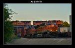BNSF 7461 & 7484, BNSF 9081 & 6055