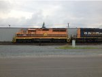 HCRY power with ONR loaner at Sudbury yard