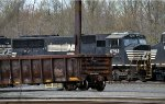 NS SD60M 6782 buried deep in Morrisville Yard