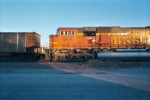 DPU on BNSF coal train