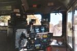 In cab of CN 6948