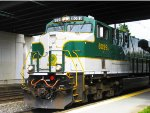 Southern NS Heritage Unit Powers into Newark