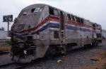 Amtrak 95 post-garbage truck collision.