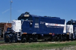 Now painted for Austin Area Terminal Railroad / Econo-Rail, ECRX 4472 visits Taylor once more.