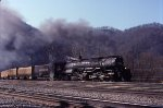 Clinchfield 676 drifting into Shelby Yard
