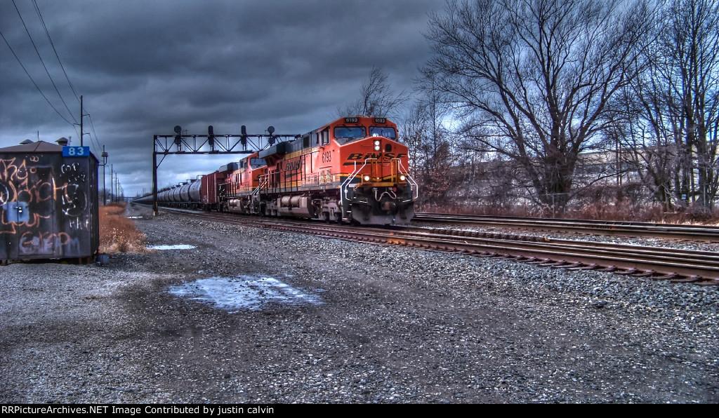HDR BNSF 6193