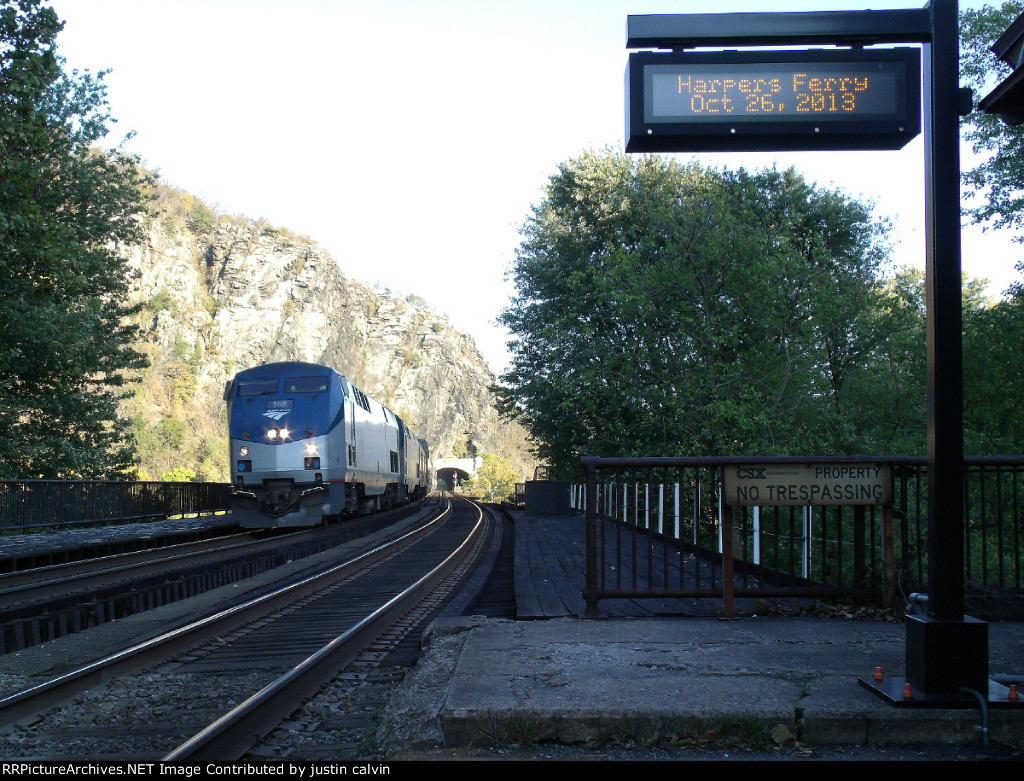AMTK 168 at Harpers Ferry