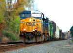 A CSX mixed freight with a little surprise in between