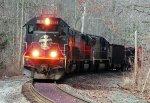 IC 1038 leaving Conneaut Ohio
