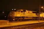 UP 4624 at night