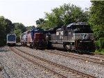 CSX Q418, NS 39G & NJ Transit