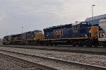 SD40E3 Trailing