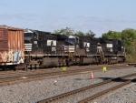 Three NS Units underway