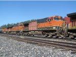 BNSF 1016 Trails on QSTPVJ
