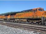 BNSF 7807 Trails on QSTPVJ