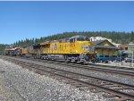 UP 8053 leads a Rail Train