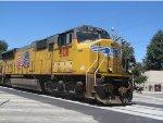 UP 5011 leads Detoured Ethanol Train