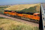 BNSF 9396 and 9328