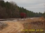 Lone boxcar