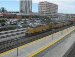 Union Pacific Z Train Heads West