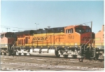 BNSF 7613 Denver Yard Dec 11 2005 Built Oct 2005 Serial#56204