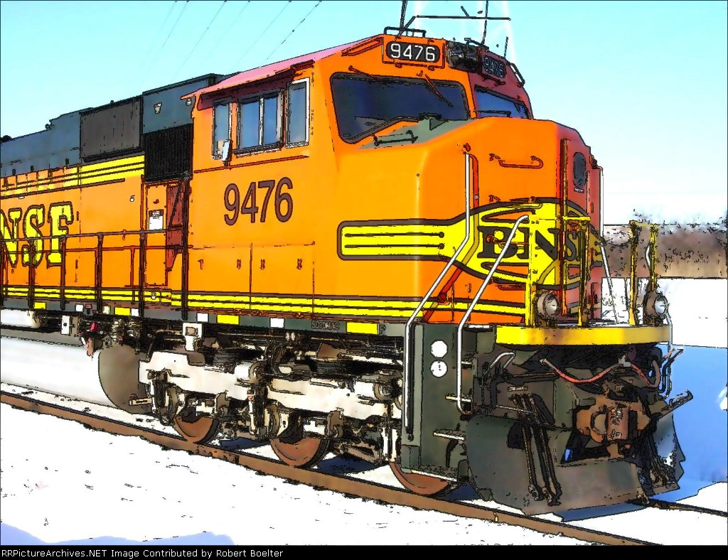 BNSF 9476