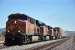 Intermodal climbs upgrade on westbound trip