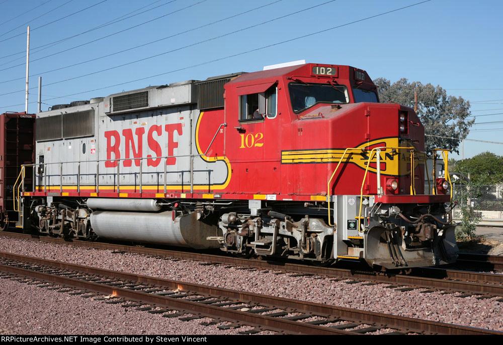 BNSF GP60M #102