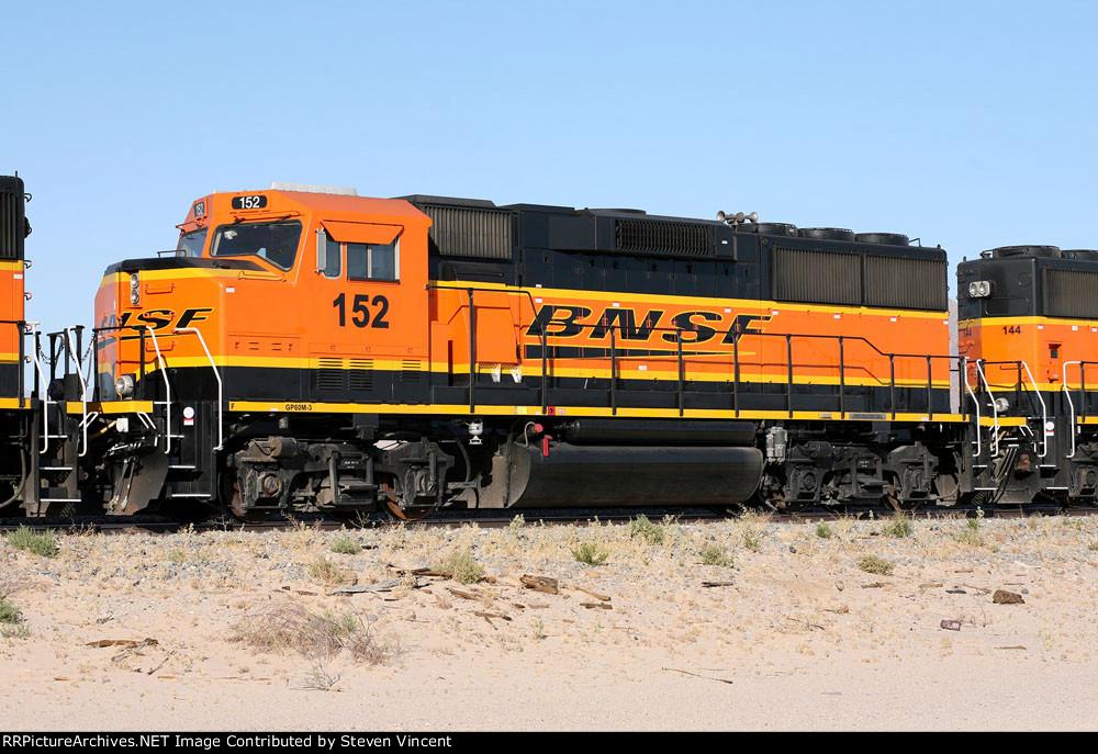 BNSF 152, Ex Santa Fe 162 GP60M