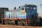 Ferromex ex Nationales de Mexico SW1504 #1508 doing morning border interchange.