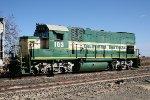 California Northern GP15-1 #103 waiting to swap trains