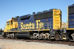 Ex Santa Fe GP60 BNSF #175 now with PTC.