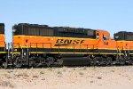 BNSF 144. Ex Santa Fe 160.