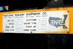 BNSF 3GS21C #1300 NRE build plate.