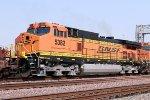 BNSF C44-9W #5382 fairly recent repaint.