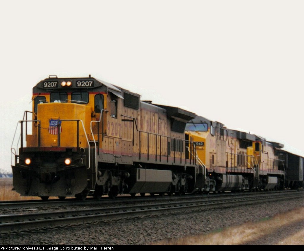UP 9207 East