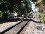 Front end loader on the tracks