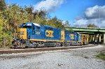 A014 ditcher train
