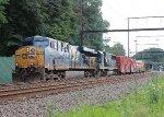 CSX ES40DC #5240 on Q438